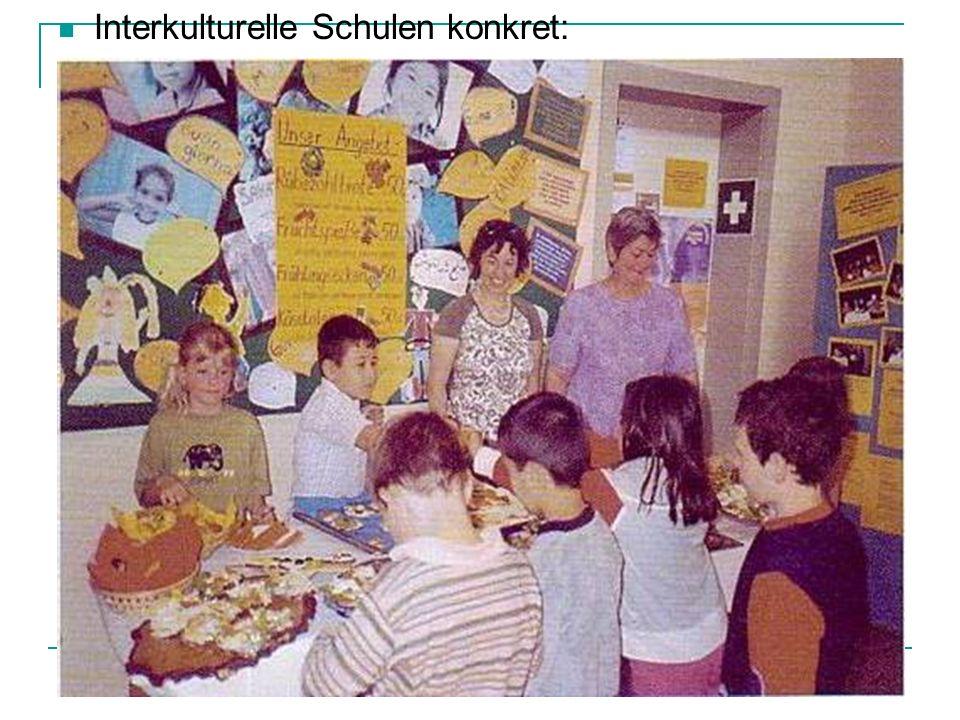 Interkulturelle Schulen konkret:
