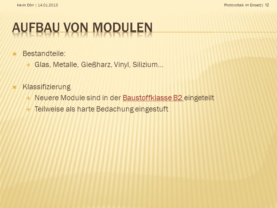 photovoltaik ein zunehmendes problem bei l scharbeiten ppt herunterladen. Black Bedroom Furniture Sets. Home Design Ideas