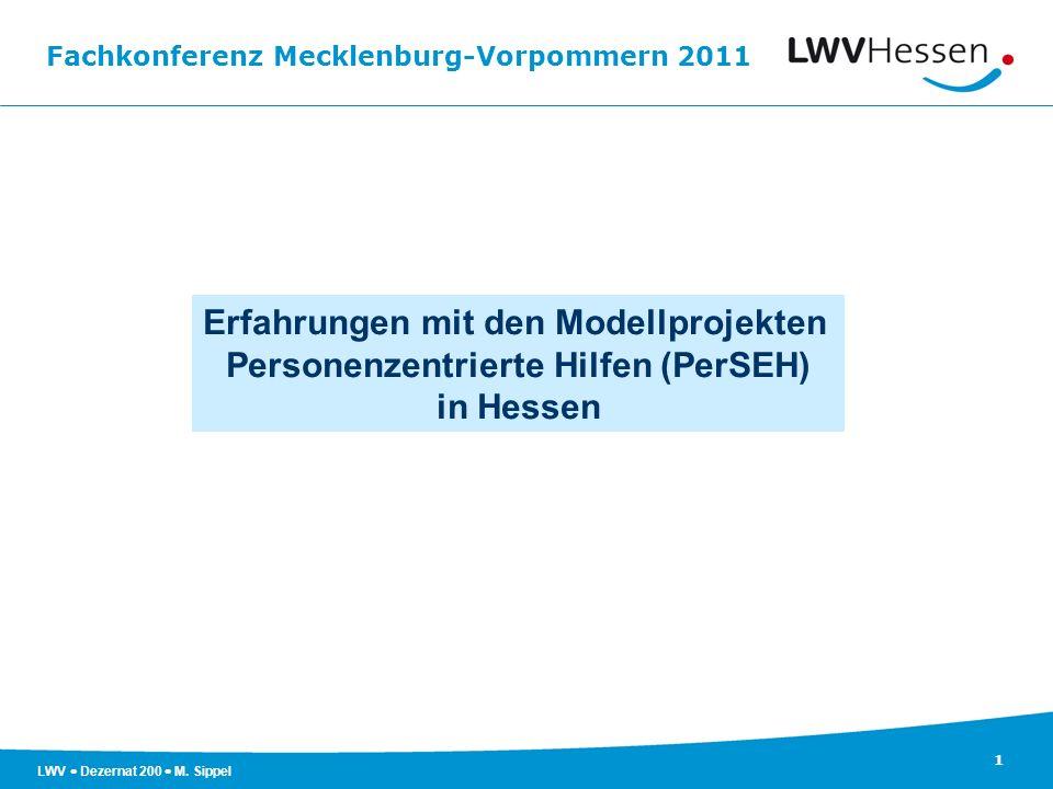 Erfahrungen mit den Modellprojekten Personenzentrierte Hilfen (PerSEH)