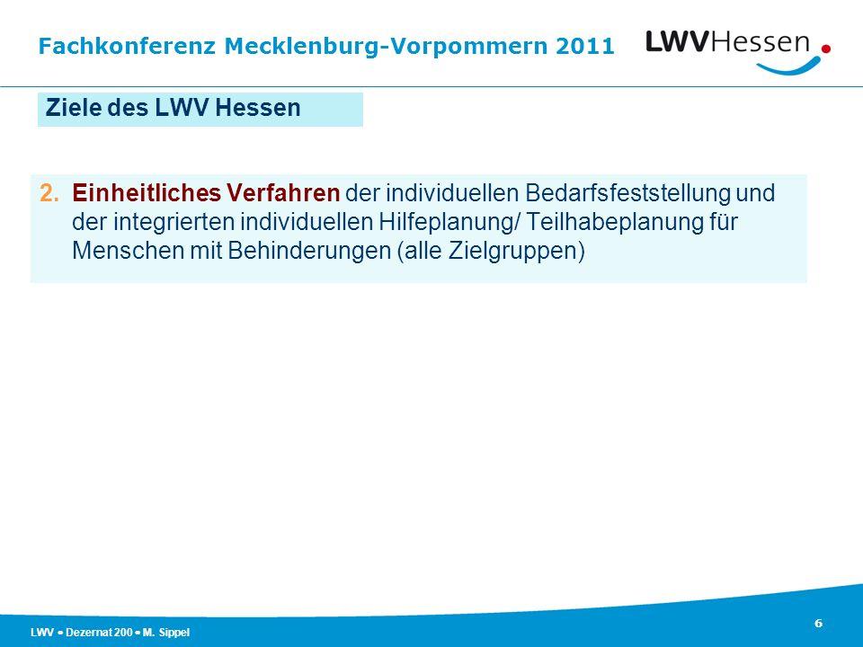 Ziele des LWV Hessen