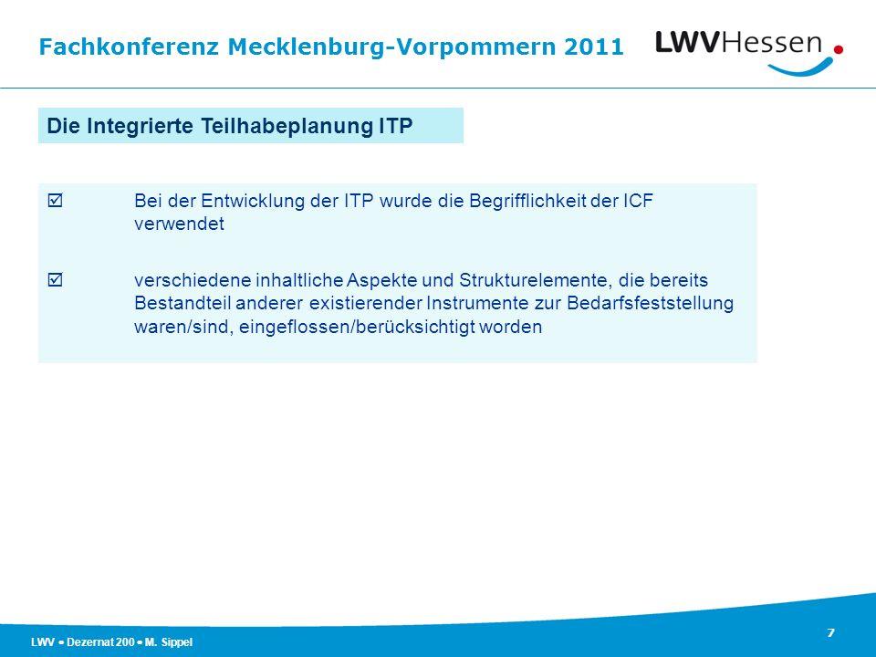 Die Integrierte Teilhabeplanung ITP