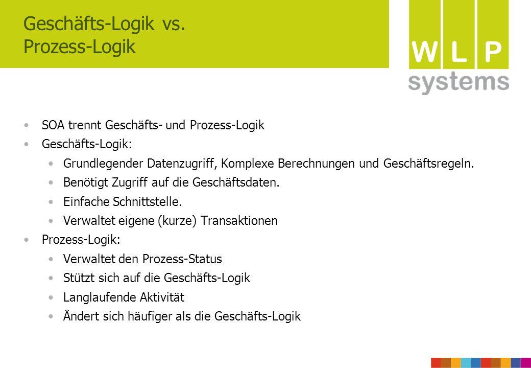 Geschäfts-Logik vs. Prozess-Logik