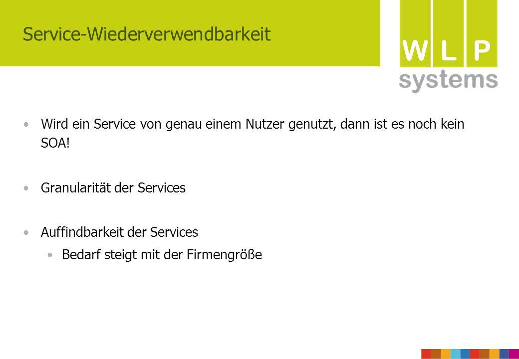 Service-Wiederverwendbarkeit