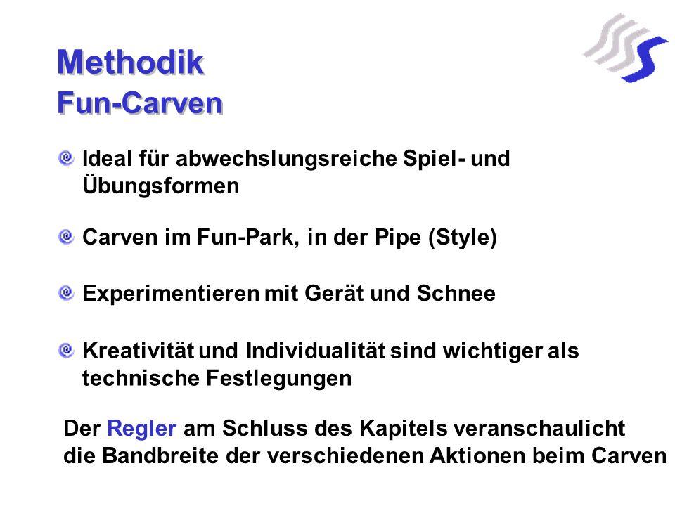Methodik Fun-Carven Ideal für abwechslungsreiche Spiel- und