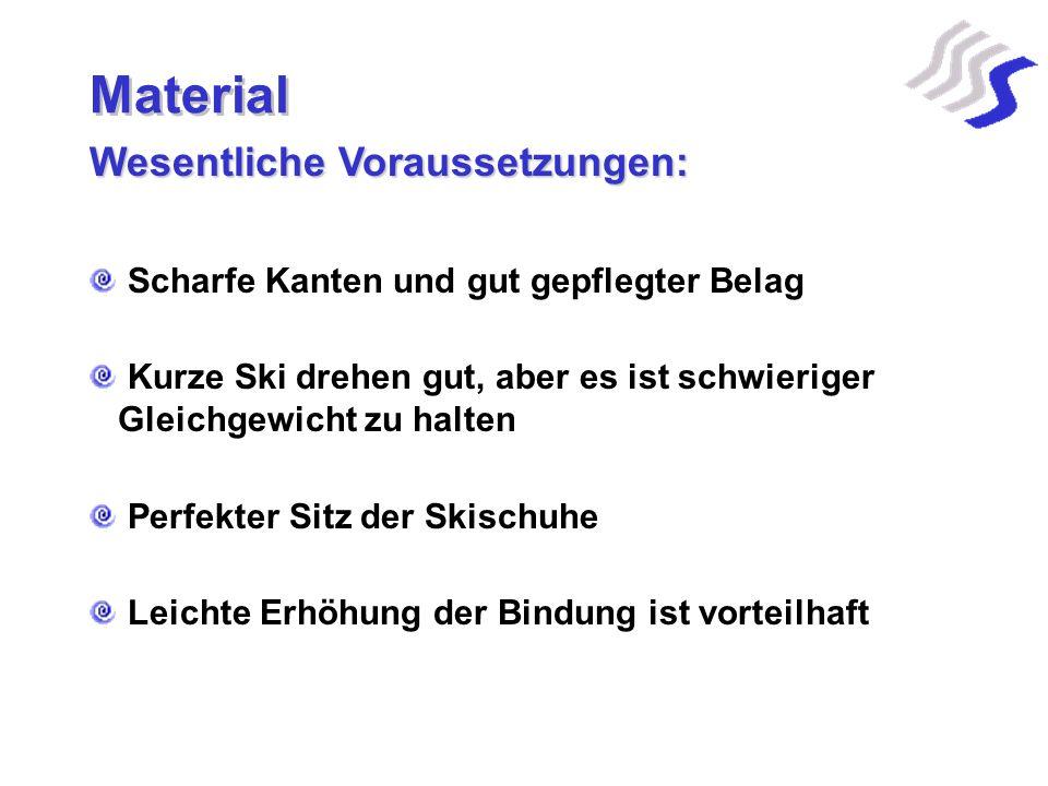 Material Wesentliche Voraussetzungen: