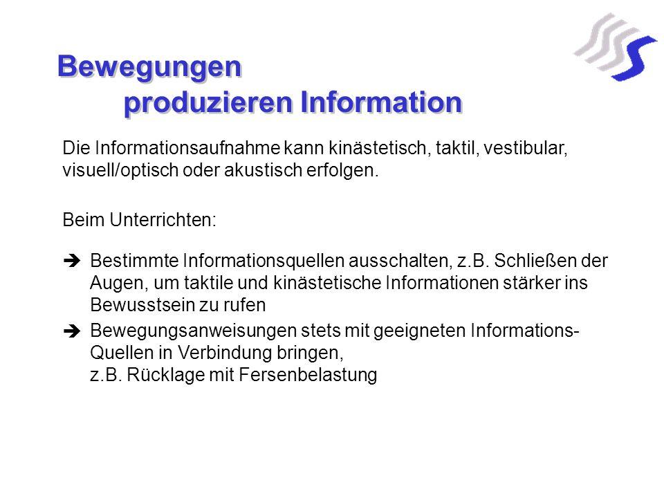 produzieren Information