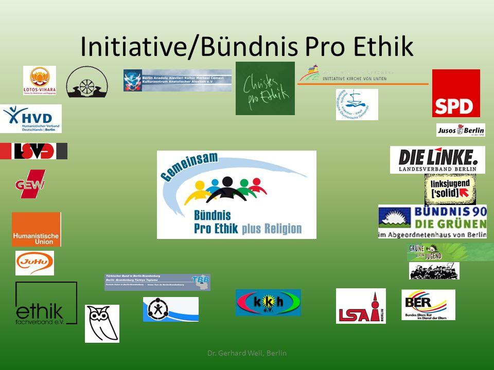 Initiative/Bündnis Pro Ethik