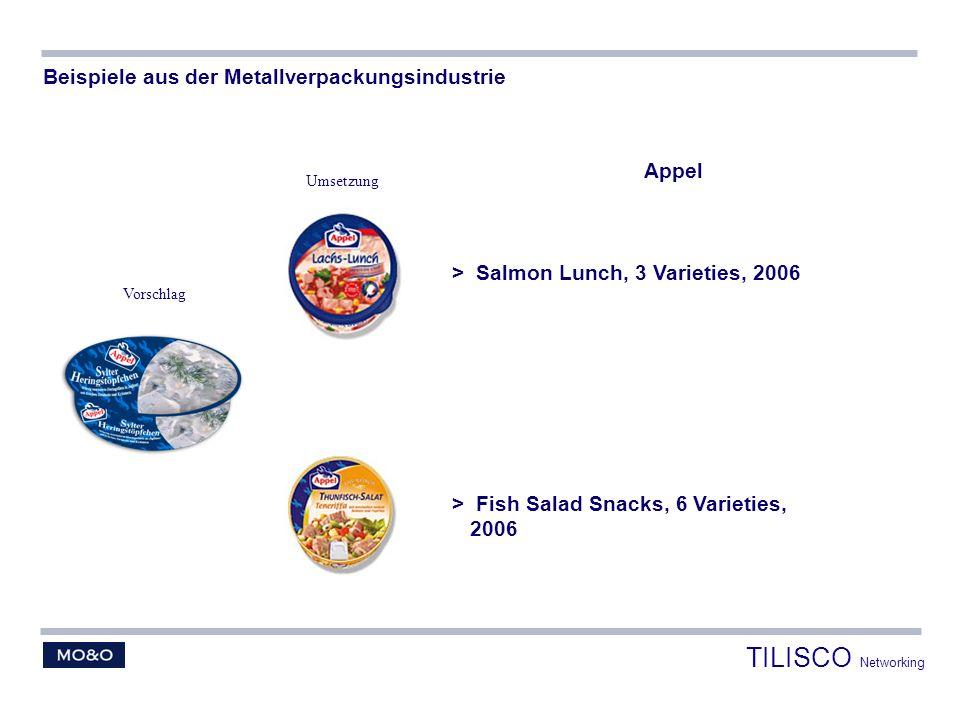 TILISCO Networking Beispiele aus der Metallverpackungsindustrie Appel