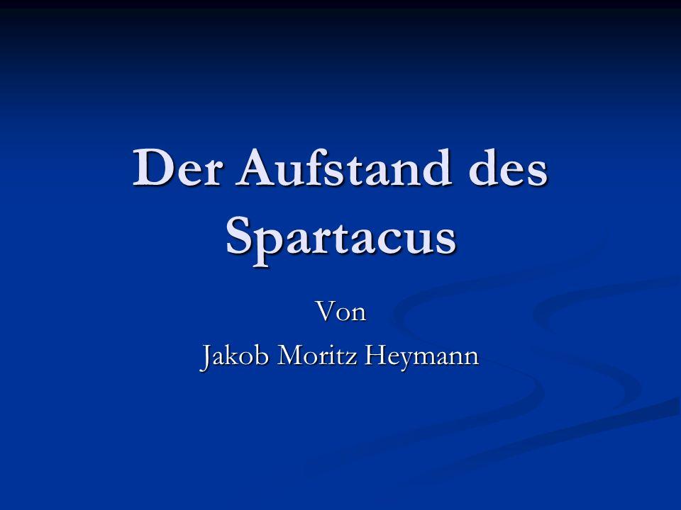Der Aufstand des Spartacus