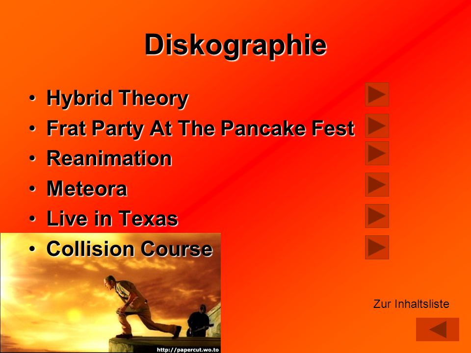 Diskographie Hybrid Theory Frat Party At The Pancake Fest Reanimation
