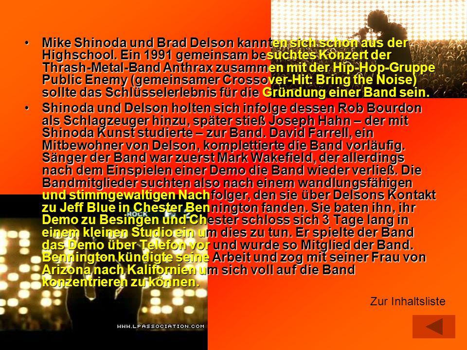 Mike Shinoda und Brad Delson kannten sich schon aus der Highschool