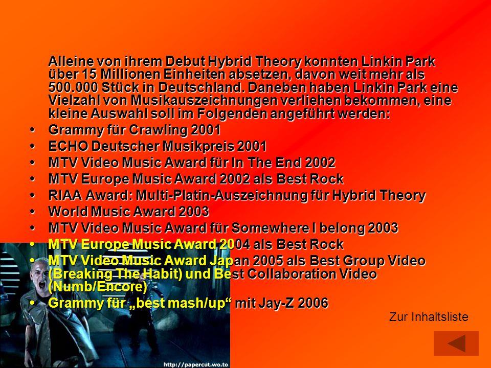• ECHO Deutscher Musikpreis 2001