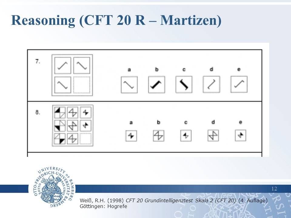 Reasoning (CFT 20 R – Martizen)