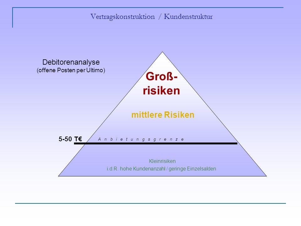 Vertragskonstruktion / Kundenstruktur