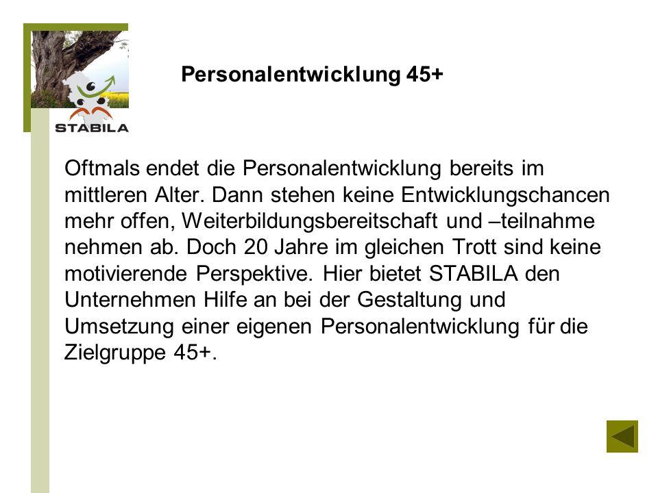 Personalentwicklung 45+