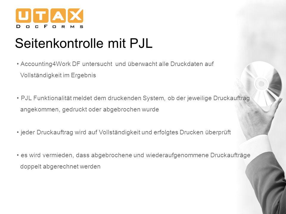 Seitenkontrolle mit PJL