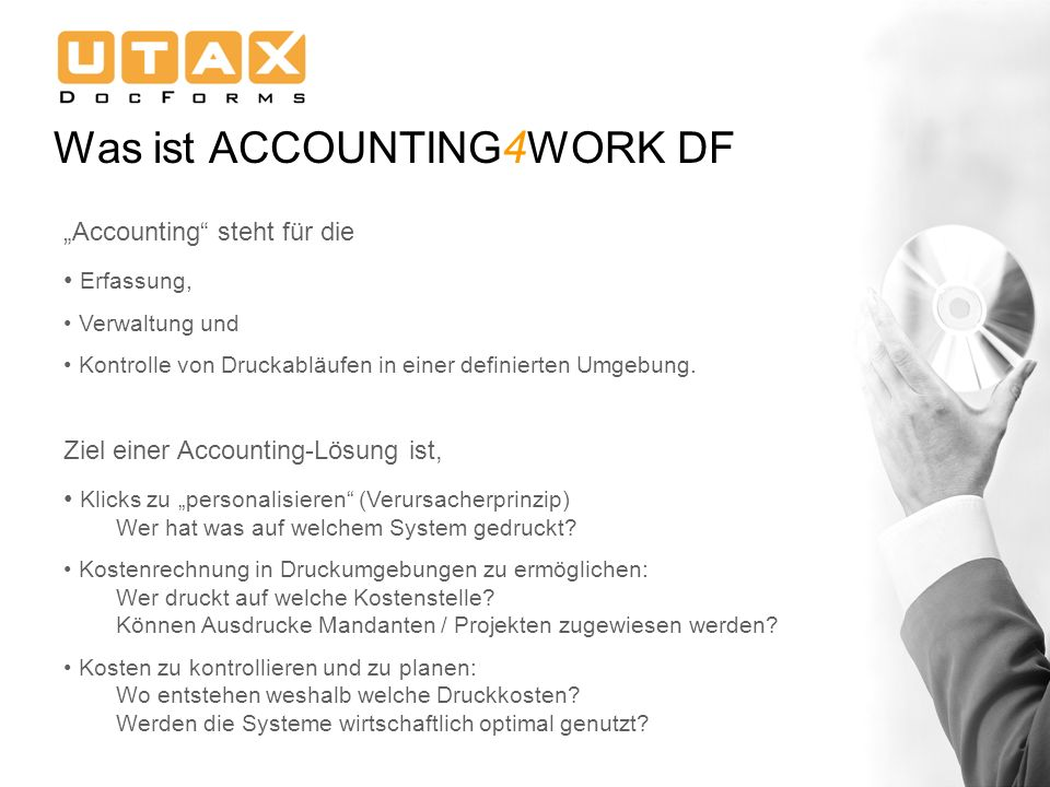 Was ist ACCOUNTING4WORK DF