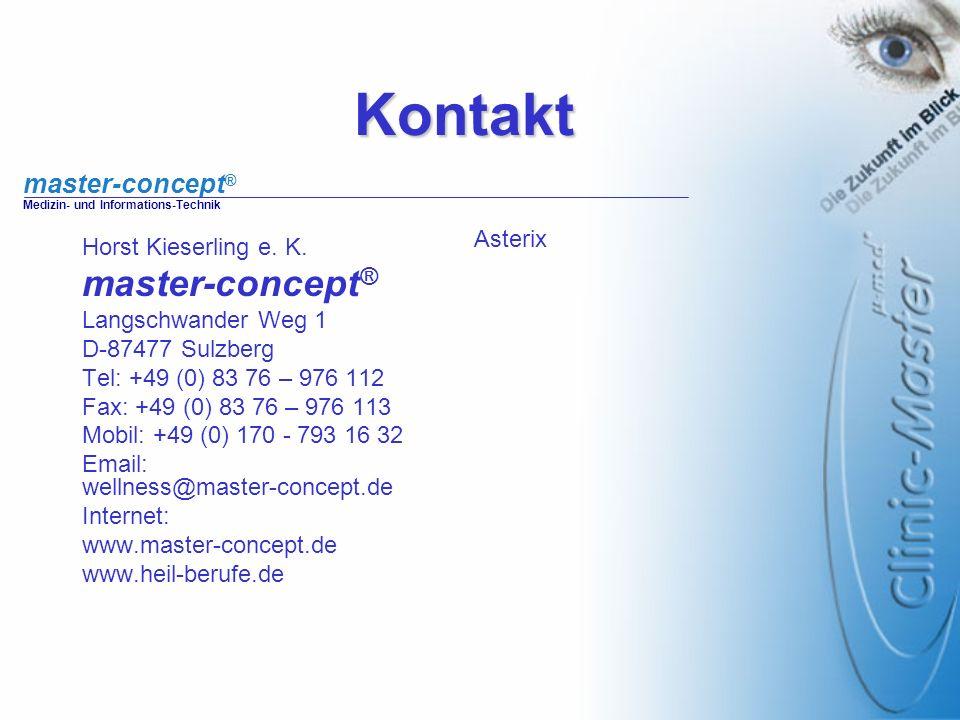 Kontakt master-concept® Asterix Horst Kieserling e. K.