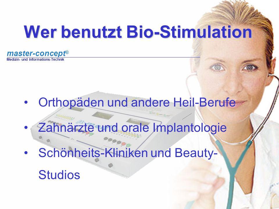 Wer benutzt Bio-Stimulation