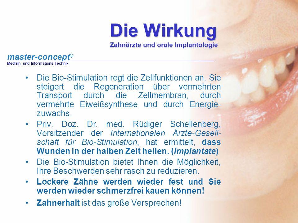 Die Wirkung Zahnärzte und orale Implantologie