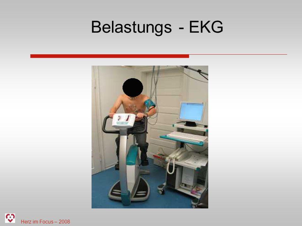 Belastungs - EKG