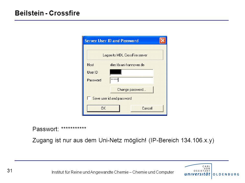 Beilstein - Crossfire Passwort: ***********