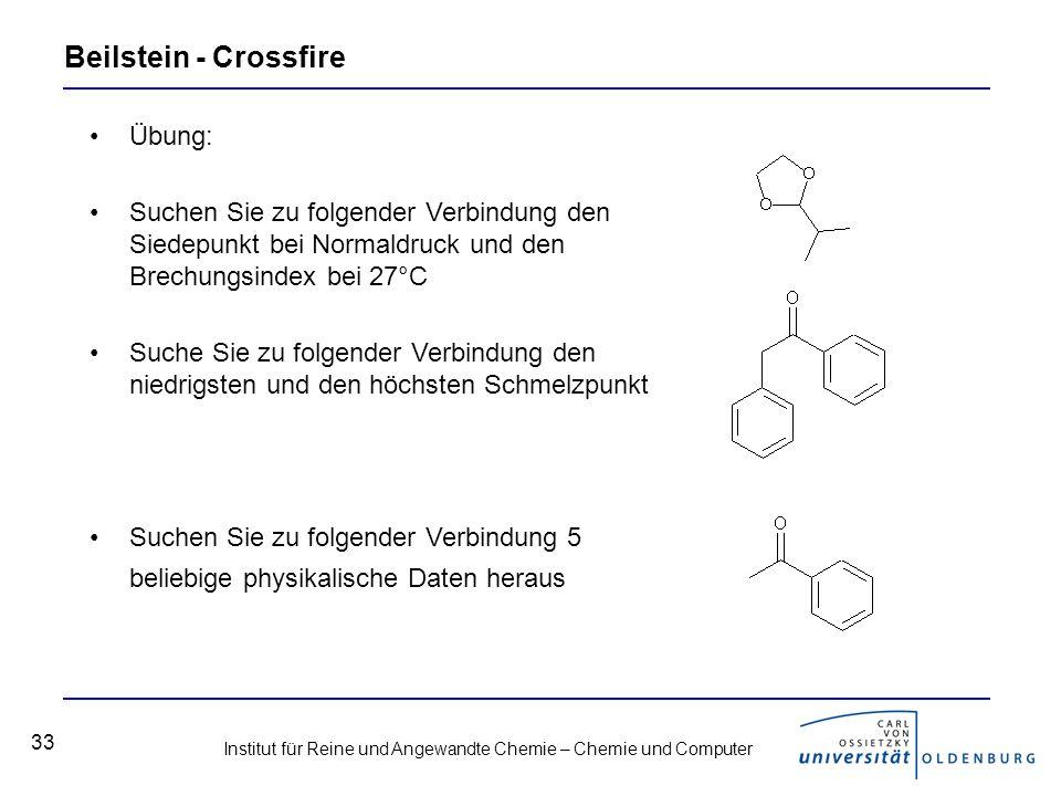 Beilstein - Crossfire Übung: