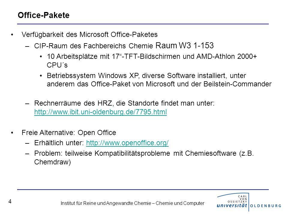 Office-Pakete Verfügbarkeit des Microsoft Office-Paketes