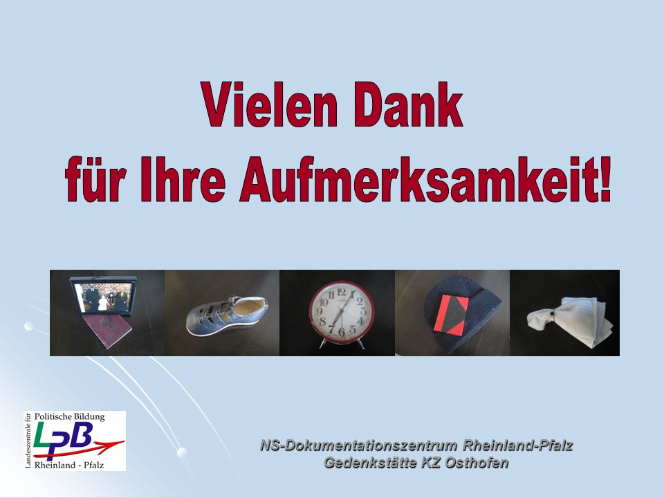 NS-Dokumentationszentrum Rheinland-Pfalz Gedenkstätte KZ Osthofen