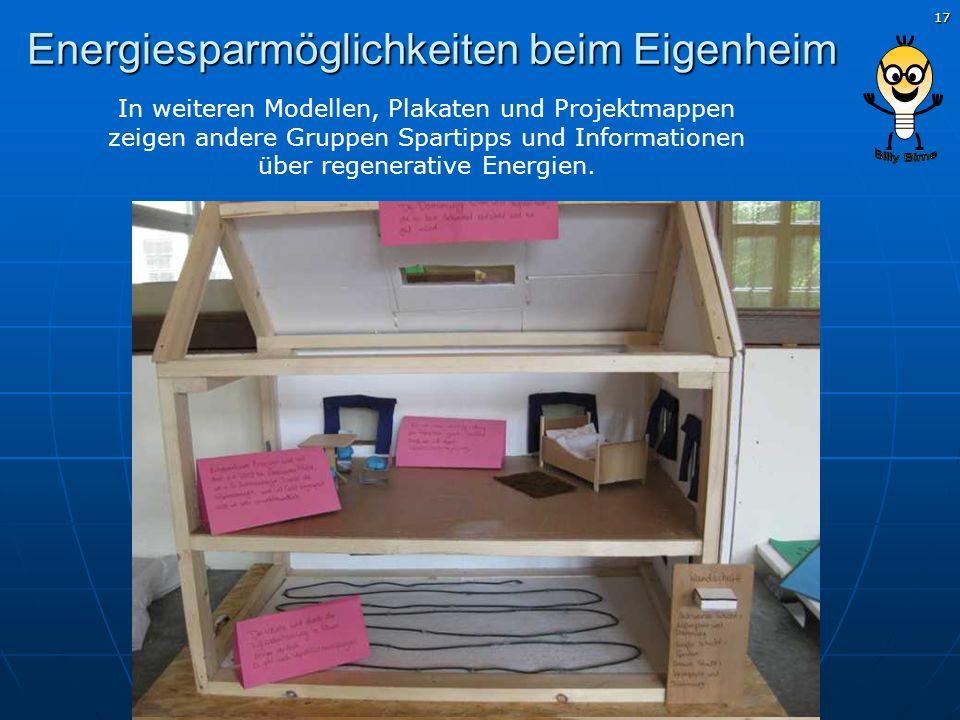 Energiesparmöglichkeiten beim Eigenheim