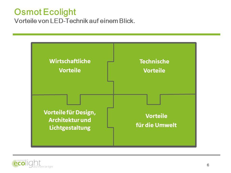 Vorteile für Design, Architektur und Lichtgestaltung