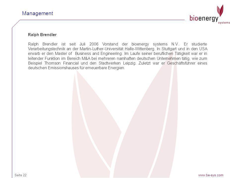 Management Ralph Brendler