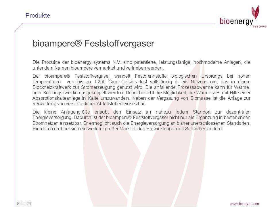 bioampere® Feststoffvergaser