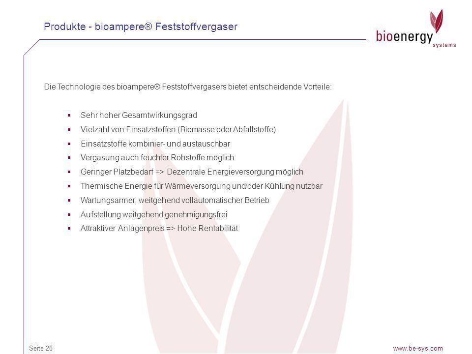 Produkte - bioampere® Feststoffvergaser