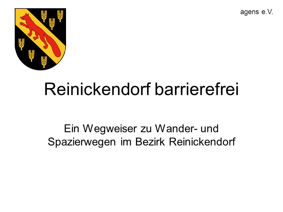 Reinickendorf barrierefrei