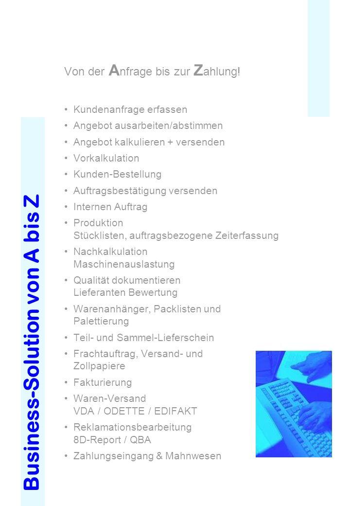 Business-Solution von A bis Z