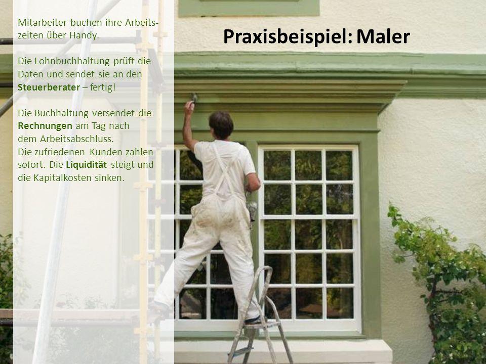 Praxisbeispiel: Maler