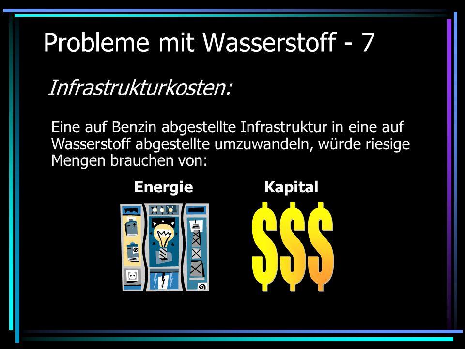 Probleme mit Wasserstoff - 7