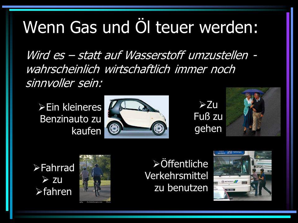 Wenn Gas und Öl teuer werden: