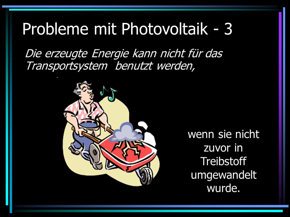 Probleme mit Photovoltaik - 3