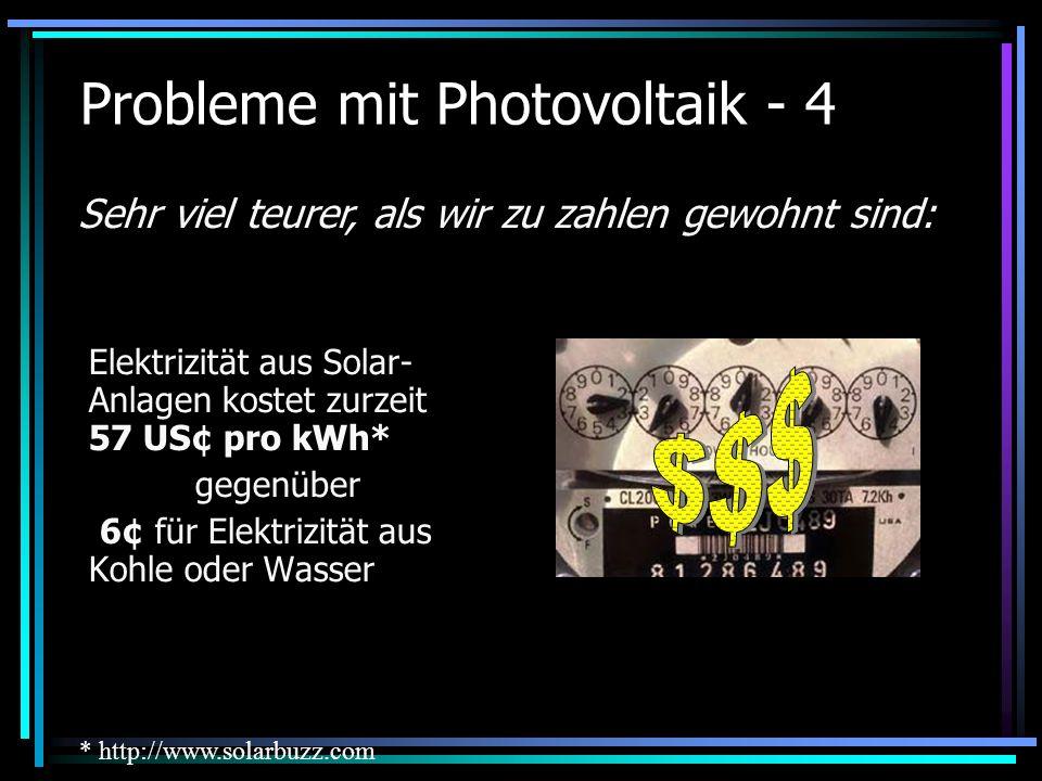 Probleme mit Photovoltaik - 4