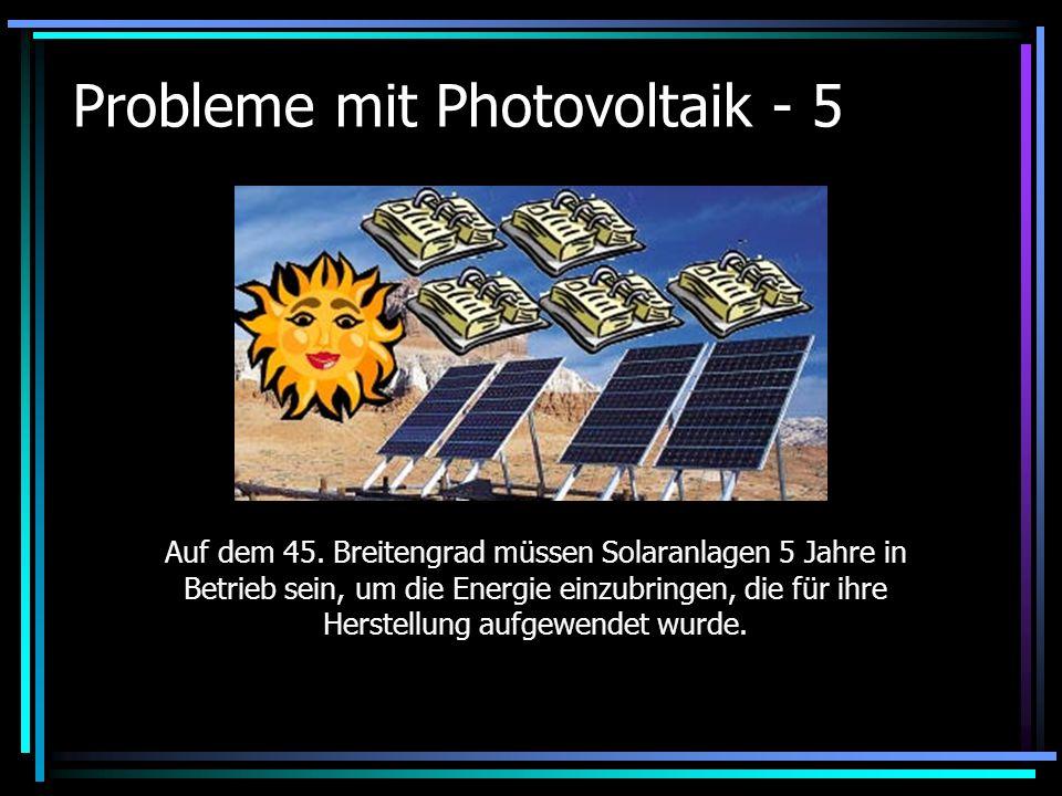 Probleme mit Photovoltaik - 5