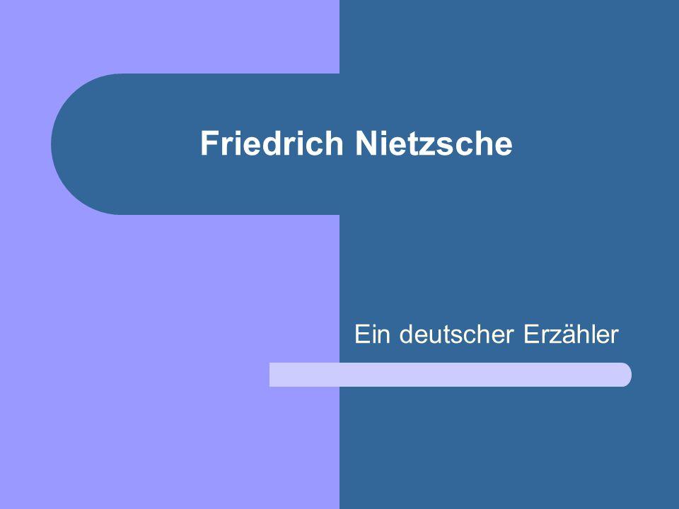Ein deutscher Erzähler