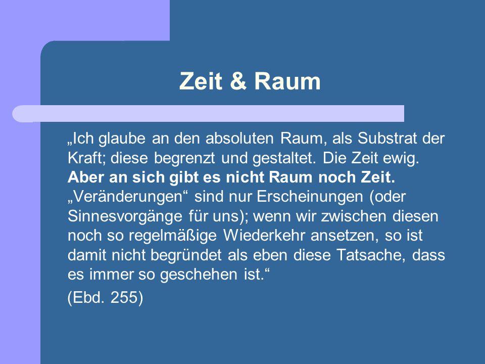 Zeit & Raum