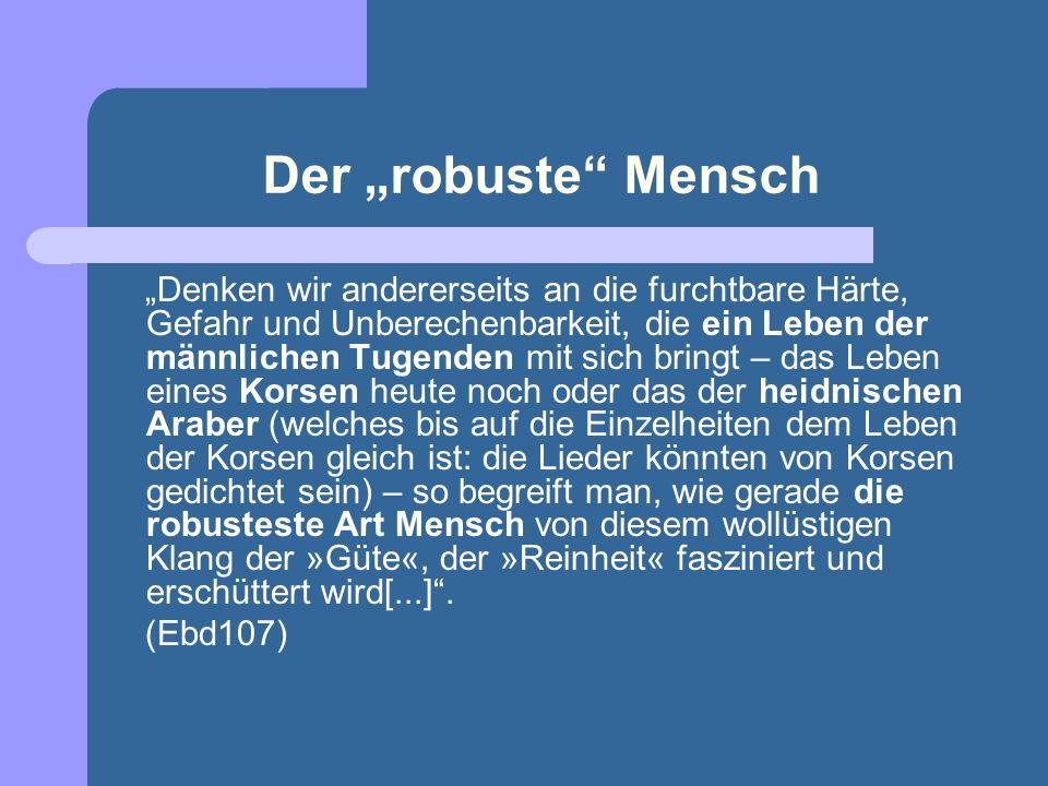 """Der """"robuste Mensch"""
