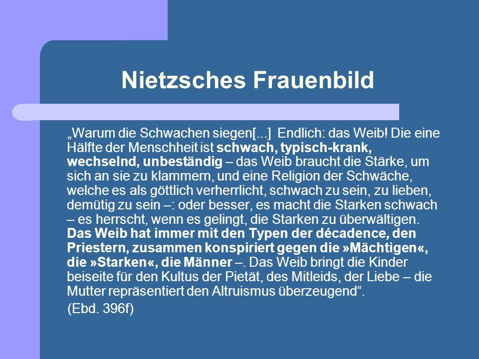 Nietzsches Frauenbild