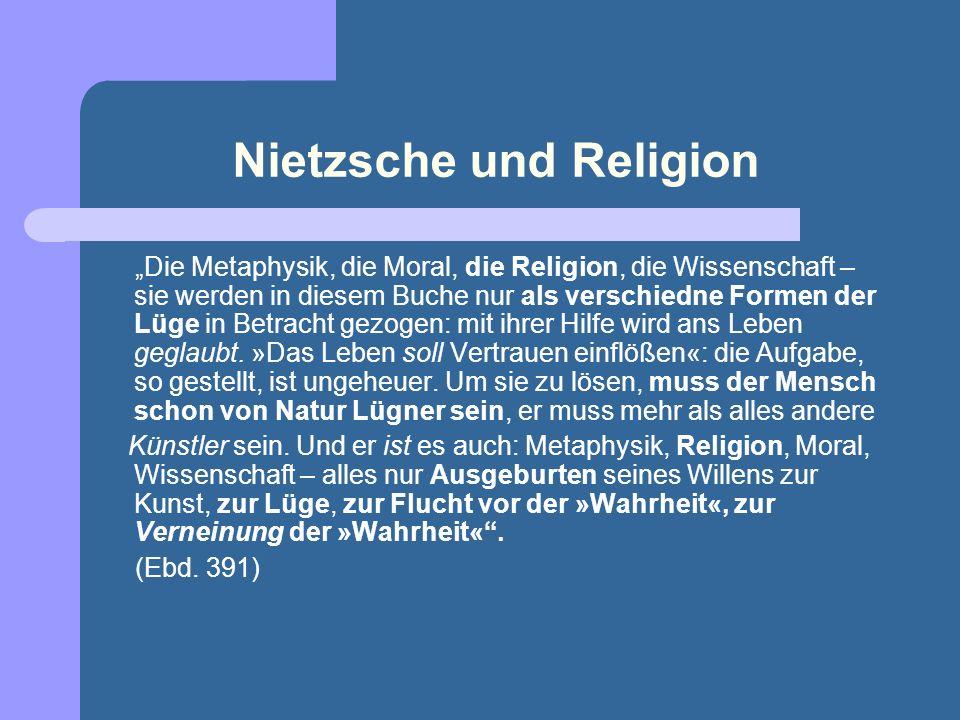 Nietzsche und Religion