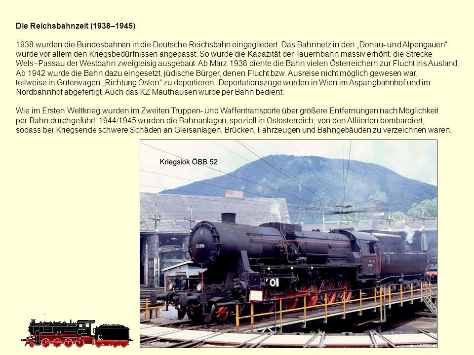Die Reichsbahnzeit (1938–1945)