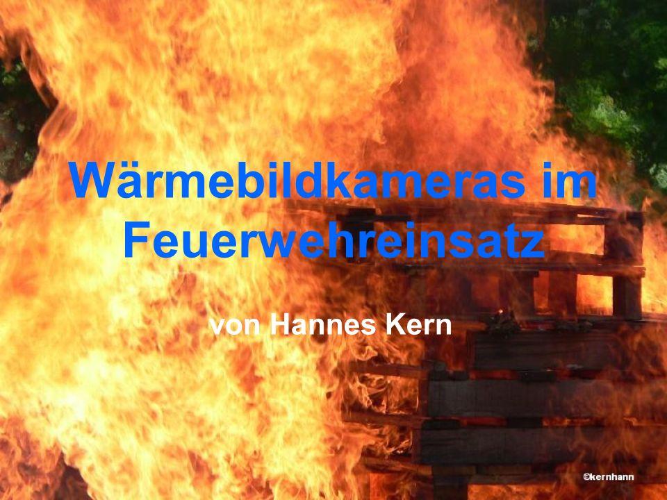 Wärmebildkameras im Feuerwehreinsatz
