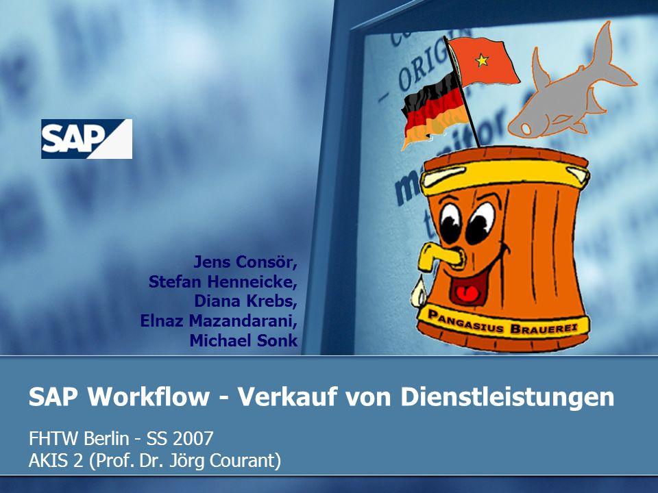 SAP Workflow - Verkauf von Dienstleistungen